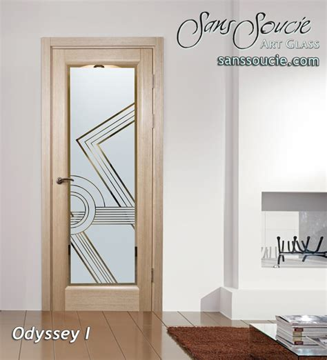 deco front door odyssey i etched glass front doors deco style