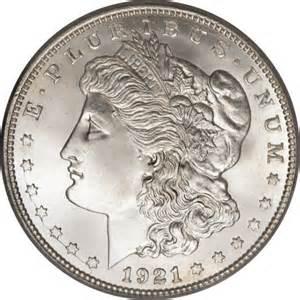 1921 morgan silver dollar value denver