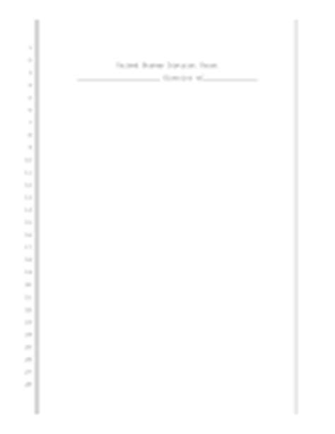 Legal Pleading Paper Court Pleading Template