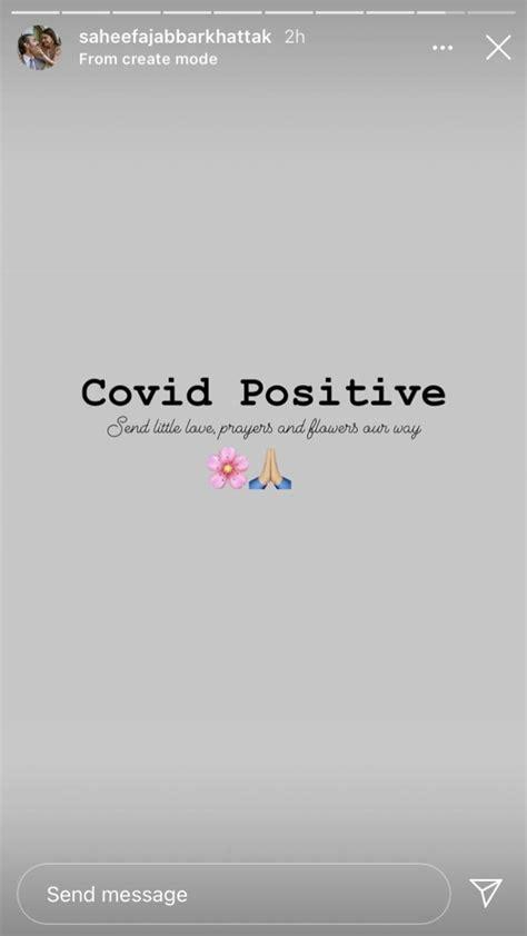 Saheefa Jabbar Khattak tests positive for coronavirus