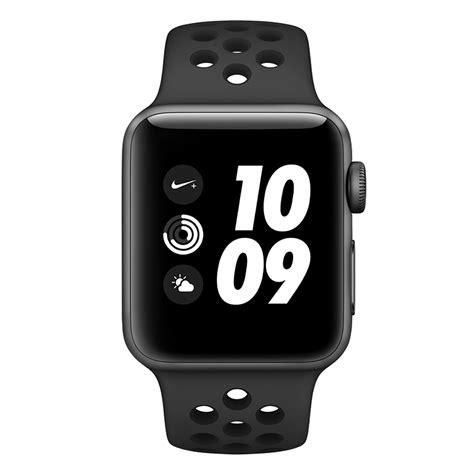 Apple Nike Aluminum Black Black Sport Band 38mm apple nike 38mm space grey aluminium anthracite
