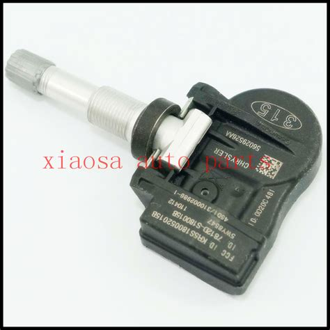 Recommended Tire Pressure For Jeep Grand New Tire Pressure Sensor Tpms 315mhz Chrysler Dodge Jeep