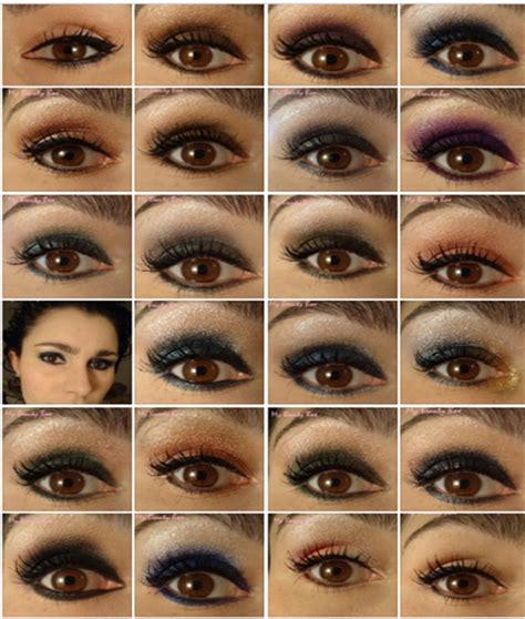 Make Up Ideen Männer by Idee Maquillage Yeux Marron