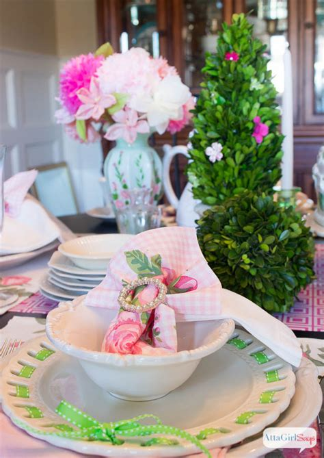 lunch table setting ideas how to make tissue paper flowers atta says