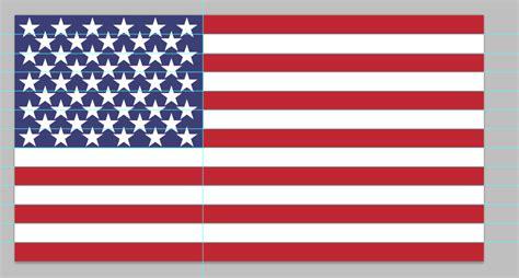 usa flag colors american flag pdf design