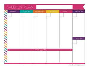 best 25 weekly planner printable ideas on pinterest