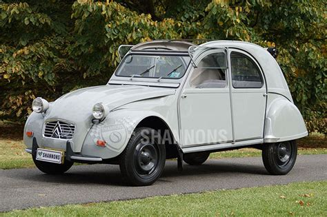citroen 2cv sold citroen 2cv sedan auctions lot 18 shannons