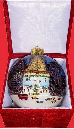 rockefeller center ball christmas ornaments rockefeller center tree glass ornament rockefeller center glass ornaments and ornaments