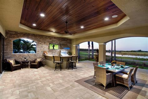 outdoor lanai luxury outdoor kitchens outdoor entertainment center