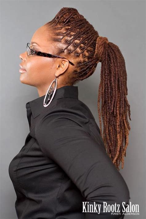 sophisticated styles for short locs 25 best ideas about dreadlock hairstyles on pinterest