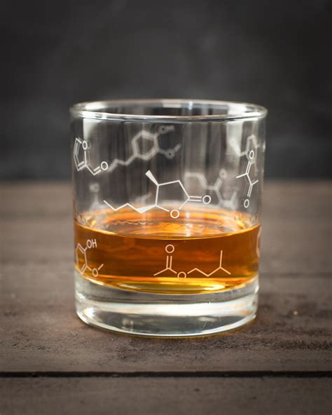 lowball glass whiskey chemistry lowball rocks glass molecule whisky gifts