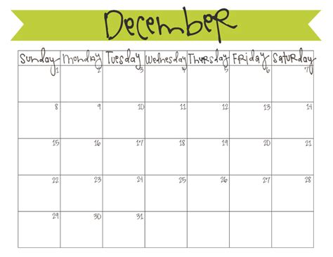 december month calendar 2013 printable december 2013 calendar free printable live craft eat