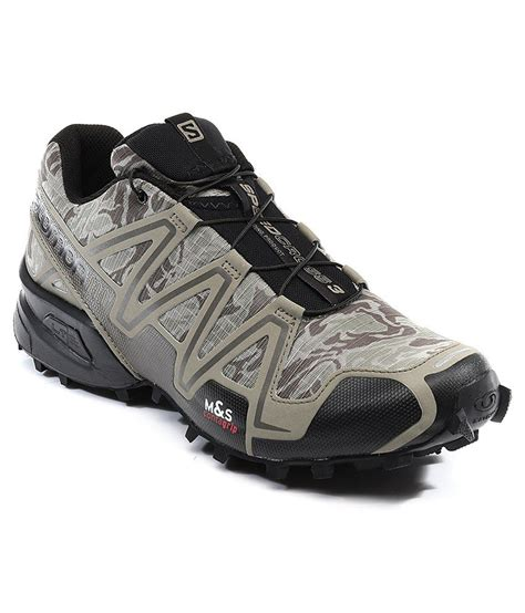 salomon sport shoes salomon speedcross 3 silver sport shoes price in india