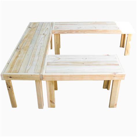 u shaped bench buy hand made u shaped handmade benches made to order