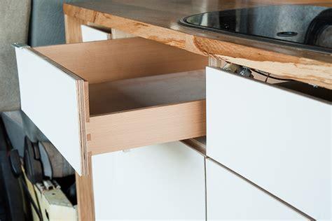 Oak Kitchen Cabinets Ideas The Fiddly World Of Camper Van Furniture Building Mr O