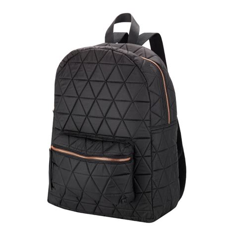 Quilted Backpacks For by Black Quilted Backpack