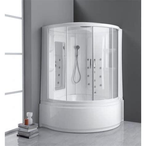 il bagno turco trailer combinato angolare vasca e doccia 135 x 135 cm