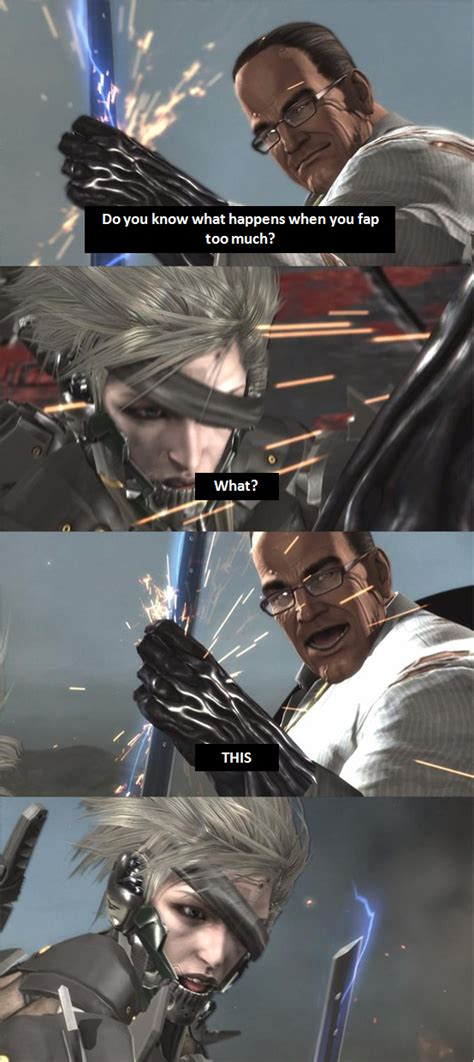 Metal Gear Revengeance Memes - standing here i realise metal gear know your meme