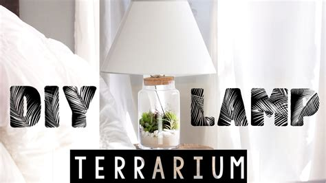 light up room decor easy diy terrarium l room decor