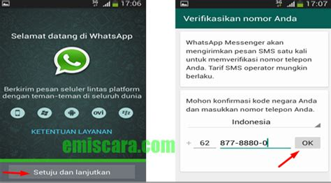 membuat link whatsapp di website cara membuat whatsapp di hp samsung emiscara com