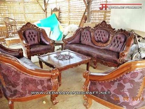 Kursi Tamu Ganesha jual set kursi tamu jati jepara ganesha mawar harga murah