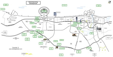 printable dubai road map finding your way around dubai the newcomer s guide to