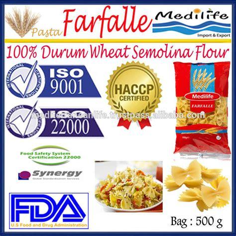Semolina Flour Semolina Pasta Flour Tepung Semolina 500 Gram farfalle 100 durum wheat semolina flour pasta macaroni