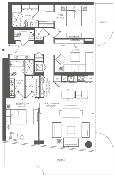 one bloor floor plans 1 bloor street east toronto one bloor st condo