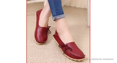 15 73 s casual breathable lace up flat loafers