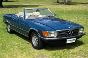 Mercedes Sl Convertible Sold Mercedes 450sl Convertible Auctions Lot 2