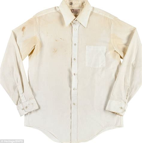 Was In The Blood shirt stained with lennon s blood sells for 163 31 000