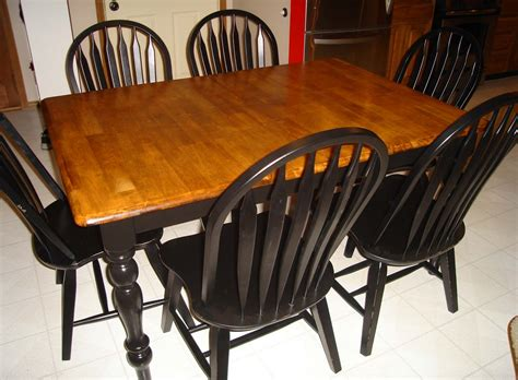 better together refinishing a kitchen table part 2