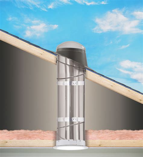 velux sun tunnel light kit velux sun tunnel rigid skylights pitched low profile