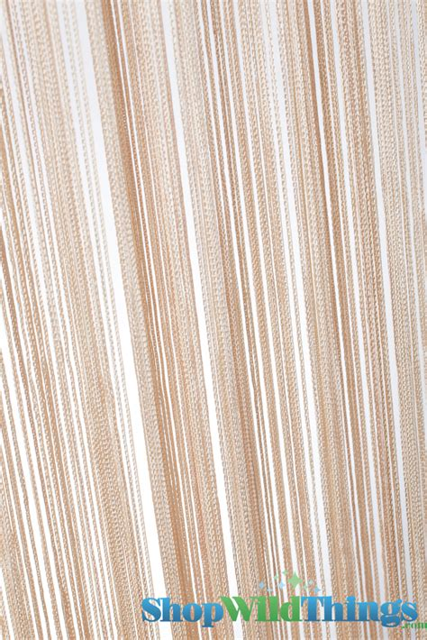 string curtains string curtain natural natural string curtains off white