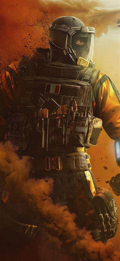 wallpaper rainbow  siege soldier smoke fighter