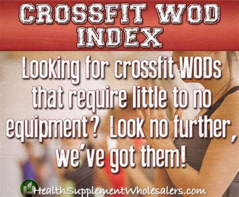 easy to do no equipment necessary crossfit workouts