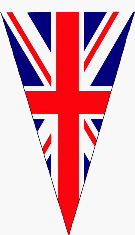 template of union bunting union flag clipart 36