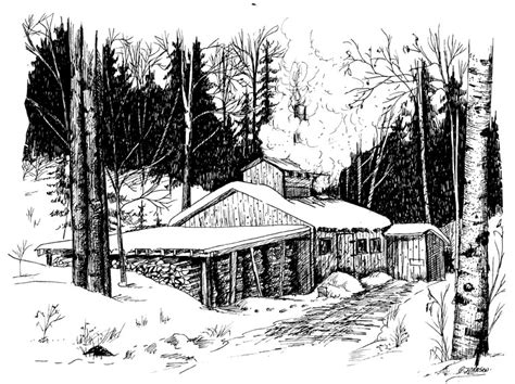 house at sugar maple sugaring clipart clipart suggest