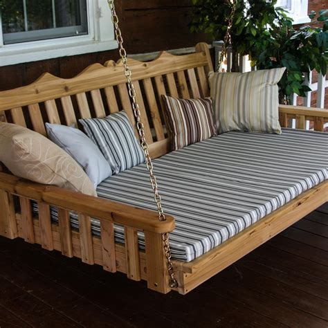 outdoor swing beds outdoor porch swing beds ultimate patio