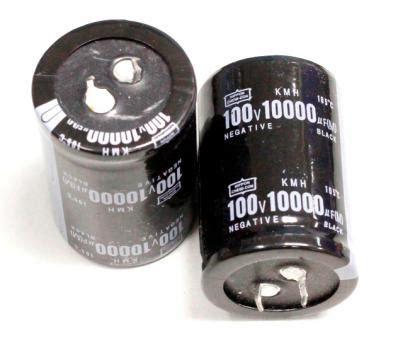 electrolytic capacitor nippon chemi con nippon chemi con 10000uf 100v electrolytic capacitor nippon chemi con capacitor analog metric