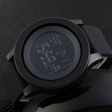 Skmei No 1142 Black Original skmei 1142 led digital sports wrist black 1