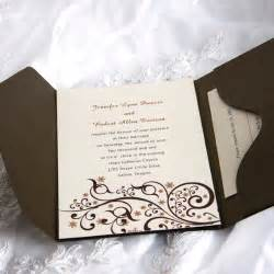 exquisite beautiful swirls pocket wedding invitations iwps050 wedding invitations
