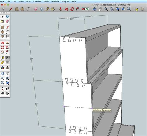 sketchup layout measurements add dimensions to a sketchup model popular woodworking