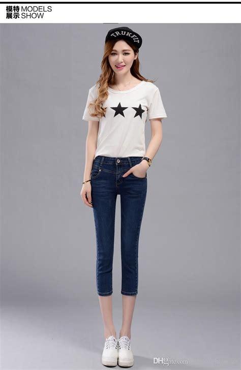 Korean Style 65 2018 new casual korean style calf length mid