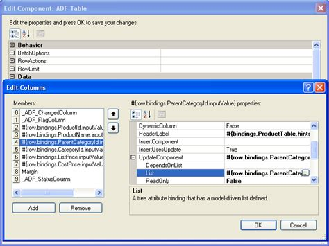 Oracle List Tables by Working With Adf Desktop Integration Table Type Components