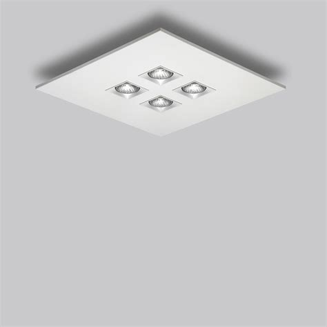 square flush mount ceiling light polifemo 4 light square ceiling flush mount by lightology