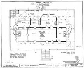 plantation home blueprints historic plantation floor plans house plans home designs