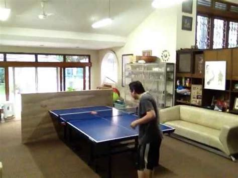 table tennis return board ping pong training with custom made return board doovi
