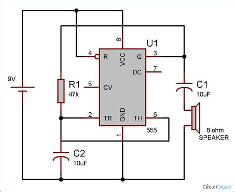 circuit diagram for ic 555 project circuit diagram circuit and schematics