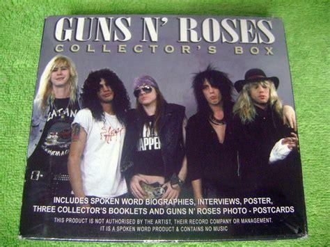 biografia cada uno integrantes guns n roses eam guns n roses collectors box biografia poster